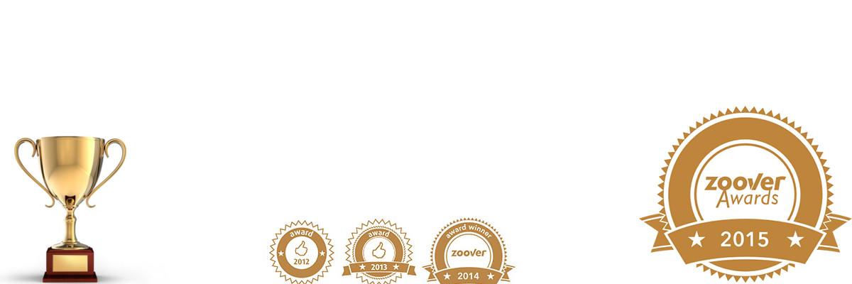 Zoover Gold award winnaar recreatiewoning Baaies Makkum